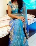 lehenga saree (Designer)