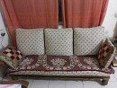 Urgent Sale of Sofa Set and Double Bed