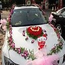 Wedding car and stage decoration