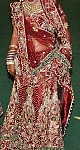 Indian Bride wedding lehenga dress