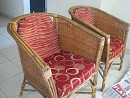 Canewood Sofa set with table in good condition for Sale