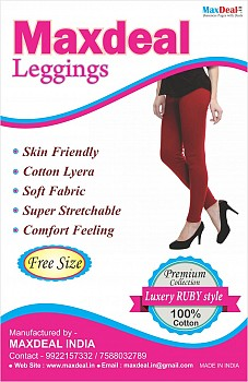 4 Way Cotton Leggings At Wholesale Rate