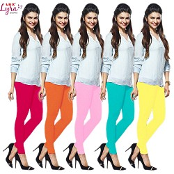 Lux Branded Cotton Leggings